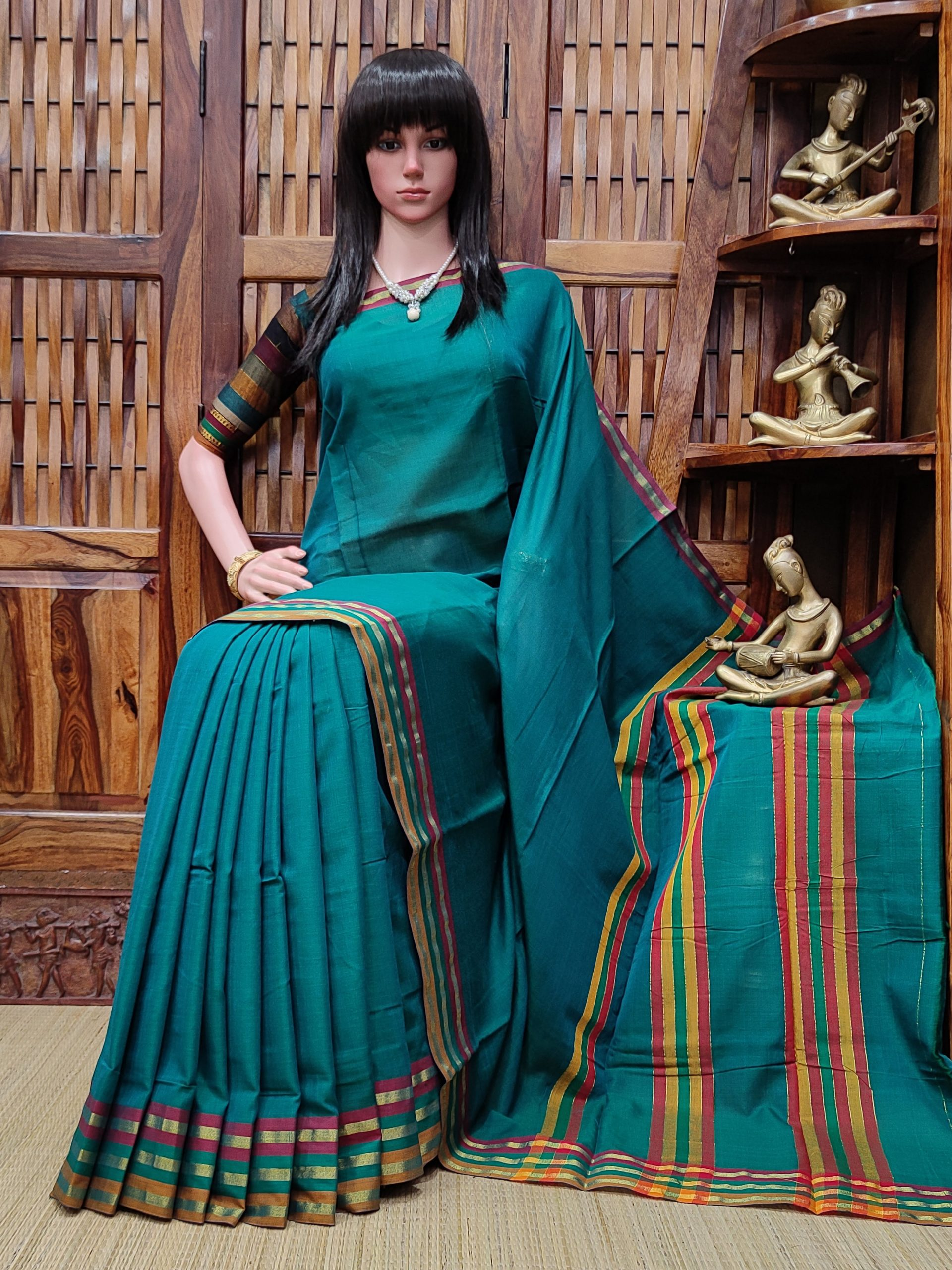 Malaya - Mercerized Pearl Cotton Saree