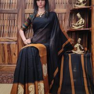 Mandamaari - Mercerized Pearl Cotton Saree