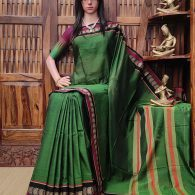 Mandarika - Mercerized Pearl Cotton Saree