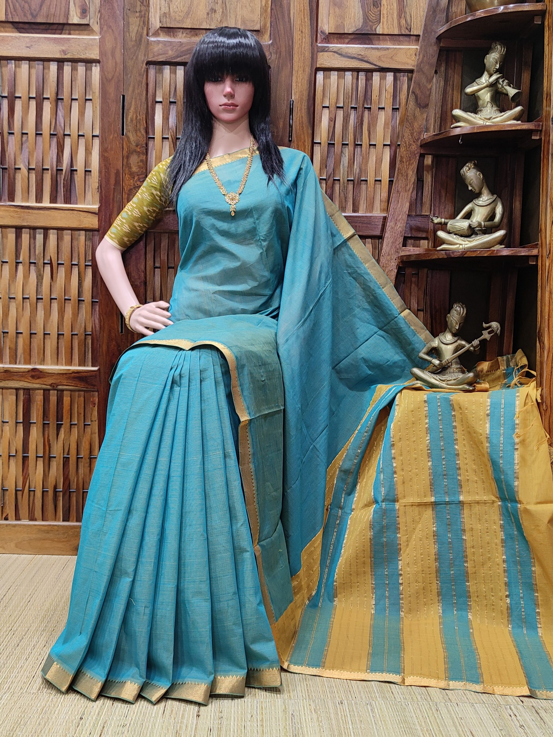Nirayana - Mangalagiri Cotton Saree