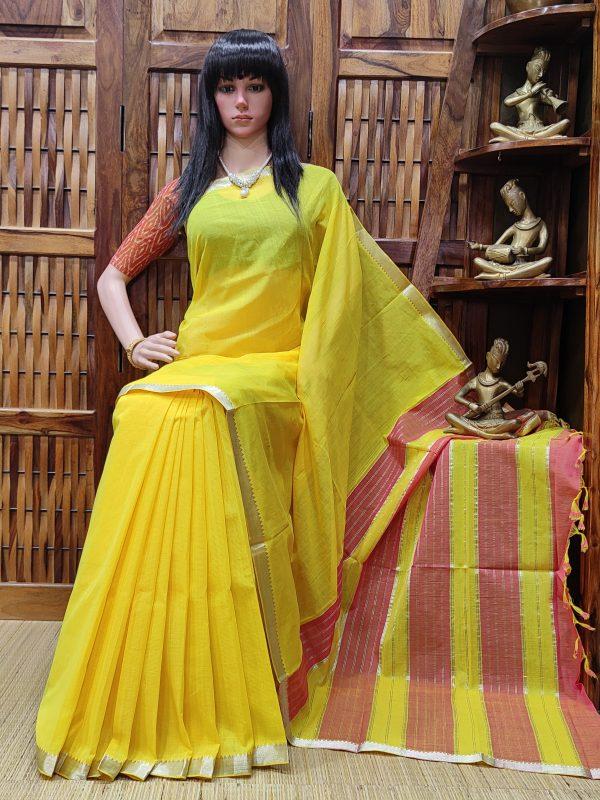 Nirmada - Mangalagiri Cotton Saree