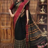 Mangalavathi - Mercerized Pearl Cotton Saree