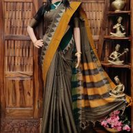 Manishka - Mercerized Pearl Cotton Saree