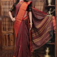 Mantika - Mercerized Pearl Cotton Saree