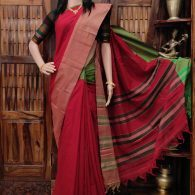 Manuranjani - Mercerized Pearl Cotton Saree