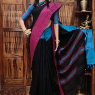 Maralika - Mercerized Pearl Cotton Saree