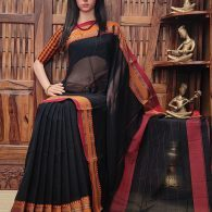 Matangakamini - Mercerized Pearl Cotton Saree