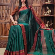Mausluni - Mercerized Pearl Cotton Saree