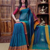 Mayura - Mercerized Pearl Cotton Saree