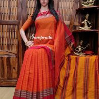 Mishti - Mercerized Pearl Cotton Saree