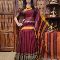 Modaki - Mercerized Pearl Cotton Saree