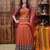 Modini - Mercerized Pearl Cotton Saree