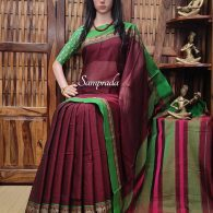 Mohakalyani - Mercerized Pearl Cotton Saree