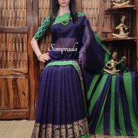 Mrimnayi - Mercerized Pearl Cotton Saree