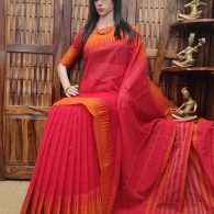 Muditha - Mercerized Pearl Cotton Saree