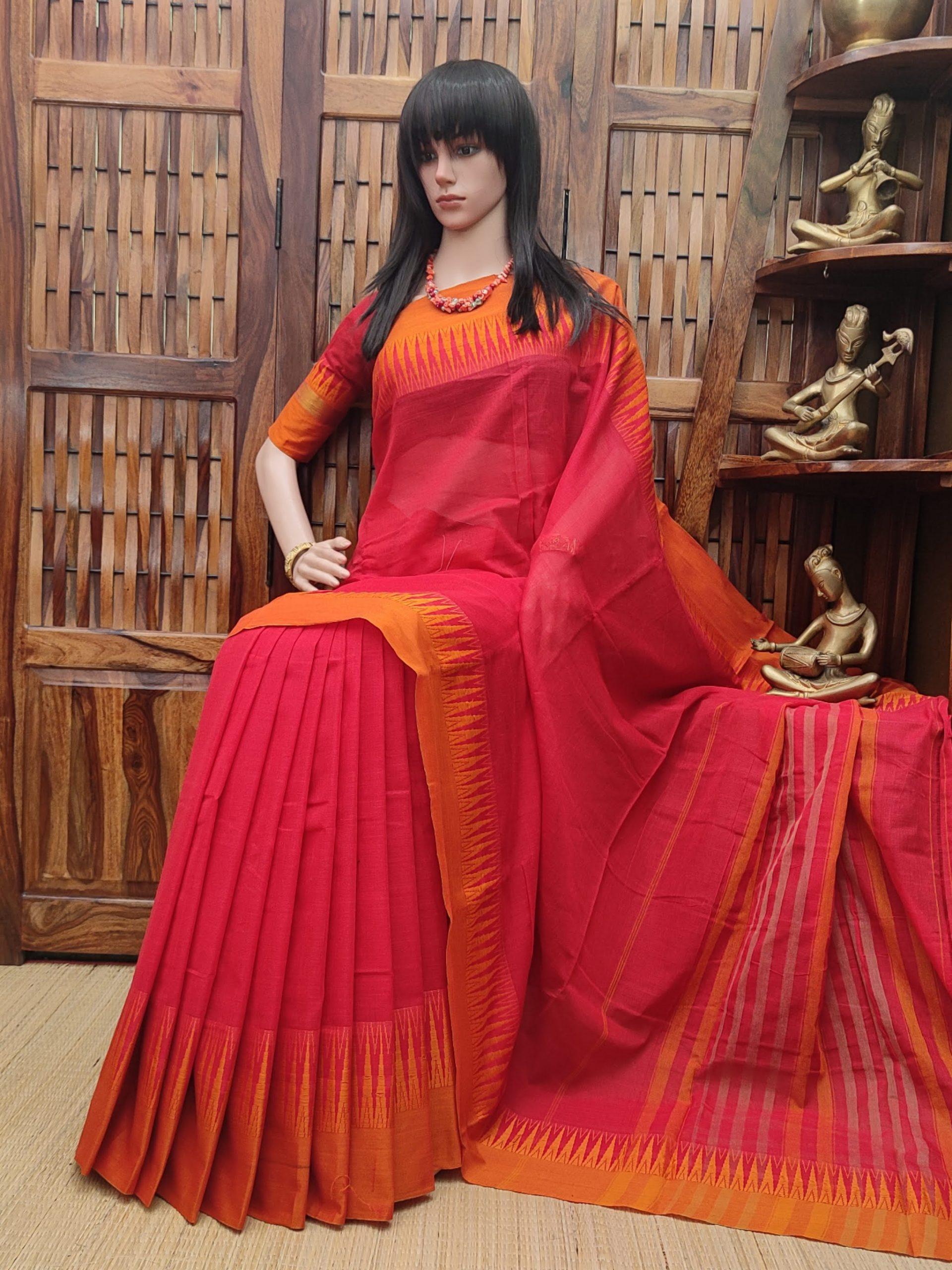 Muditha - Mercerized Pearl Cotton Saree