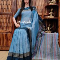 Mugdha - Mercerized Pearl Cotton Saree