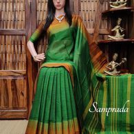 Muhanaa - Mercerized Pearl Cotton Saree
