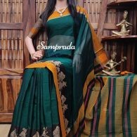 Mukundamalini - Mercerized Pearl Cotton Saree