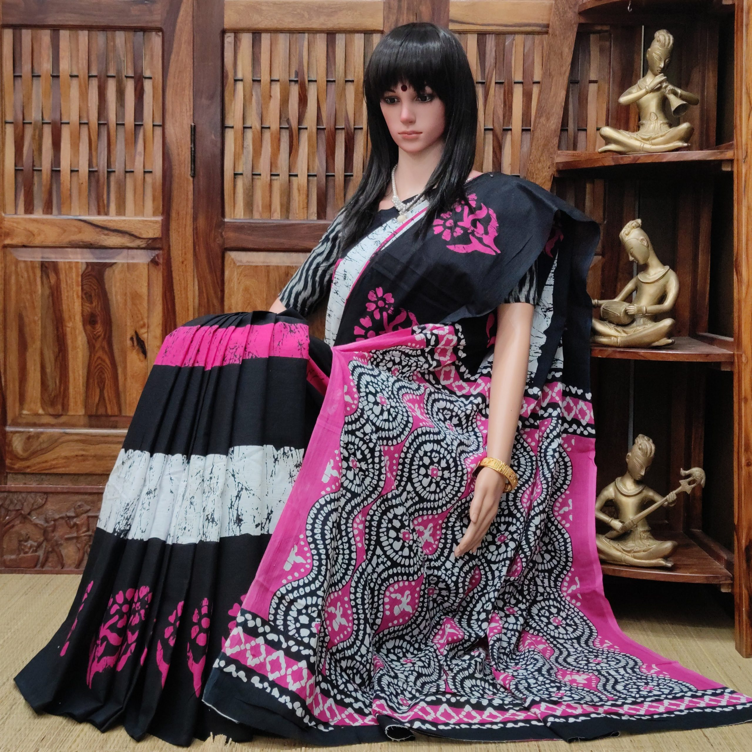 Maalavi - Mulmul Cotton Saree
