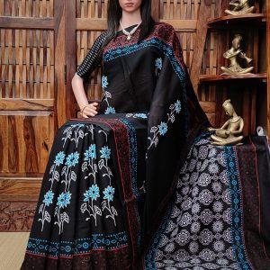 Maandhari - Mulmul Cotton Saree