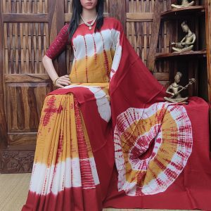 Maarisha - Mulmul Cotton Saree