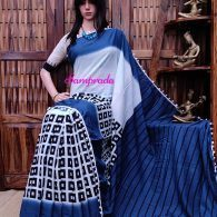 Nikasha - Mulmul Cotton Saree