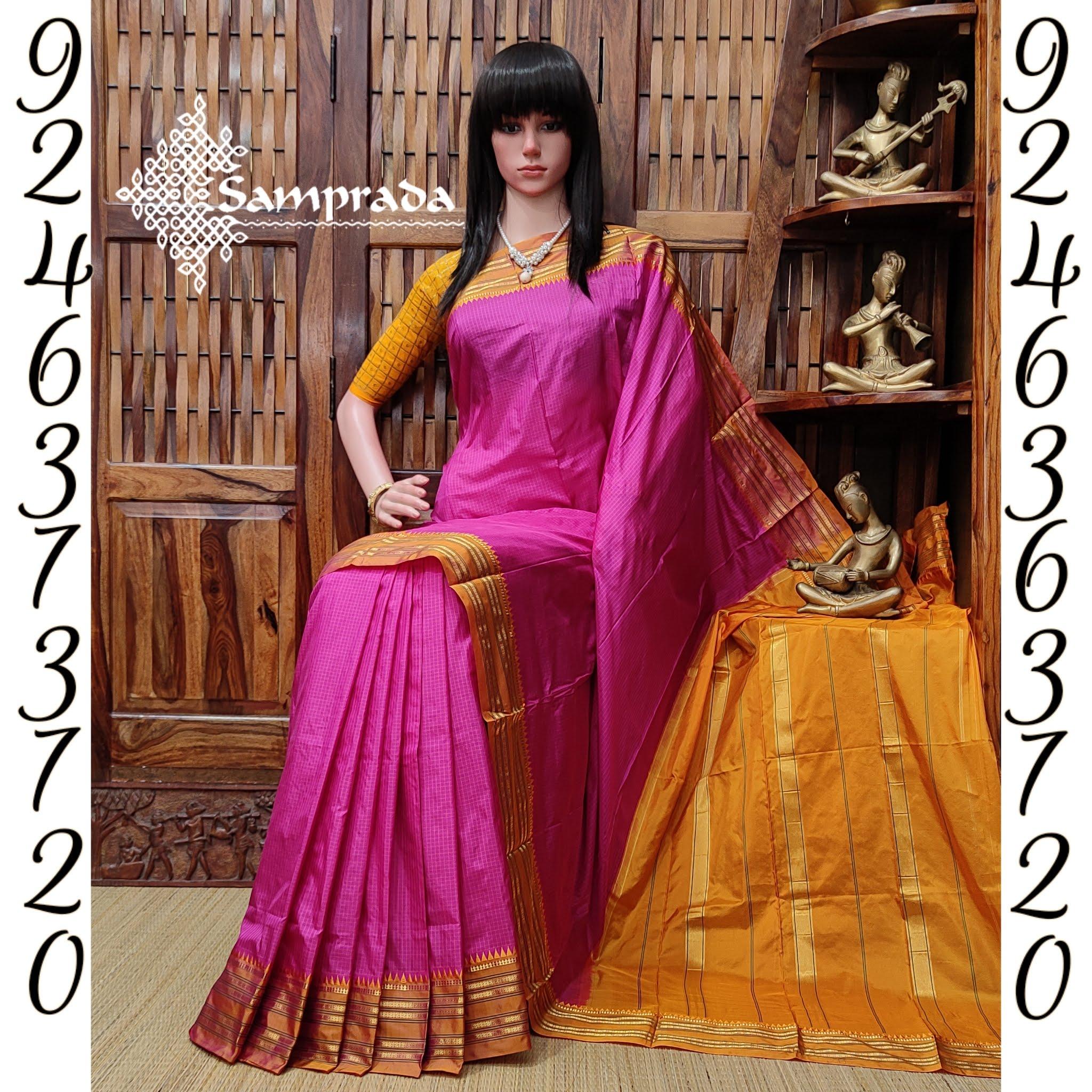Nadhha - Narayanpet Silk Saree
