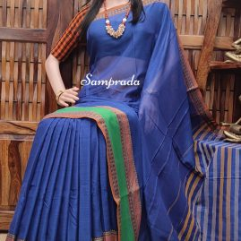 Naganandini - Mercerized Pearl Cotton Saree