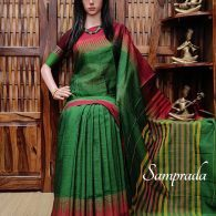 Namratha - Mercerized Pearl Cotton Saree