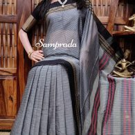 Narnrata - Mercerized Pearl Cotton Saree