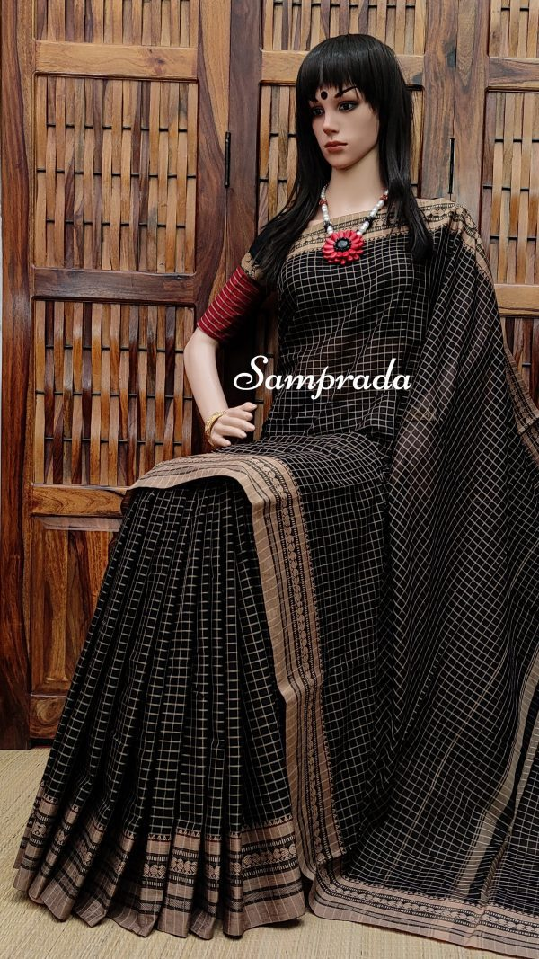 Navaja - Mercerized Pearl Cotton Saree
