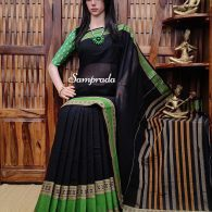 Navashree - Mercerized Pearl Cotton Saree