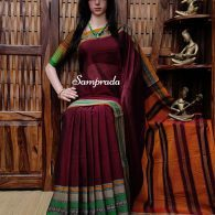 Navina - Mercerized Pearl Cotton Saree