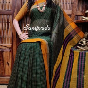 Neelaveni - Mercerized Pearl Cotton Saree