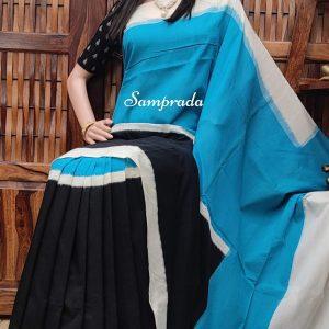 Paramika - Ikkat Cotton Saree