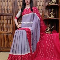 Pareeksha - Ikkat Cotton Saree