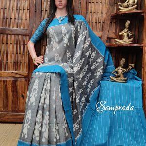Parimalam - Ikkat Cotton Saree