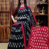 Paritushti - Ikkat Cotton Saree