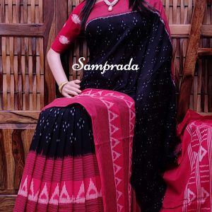 Parthibha - Ikkat Cotton Saree