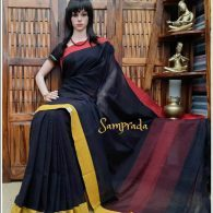 Purnita - Patteda Cotton Saree