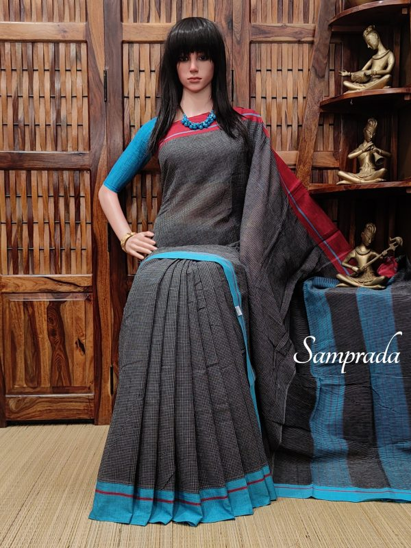 Pushana - Patteda Cotton Saree