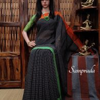 Pushya - Patteda Cotton Saree