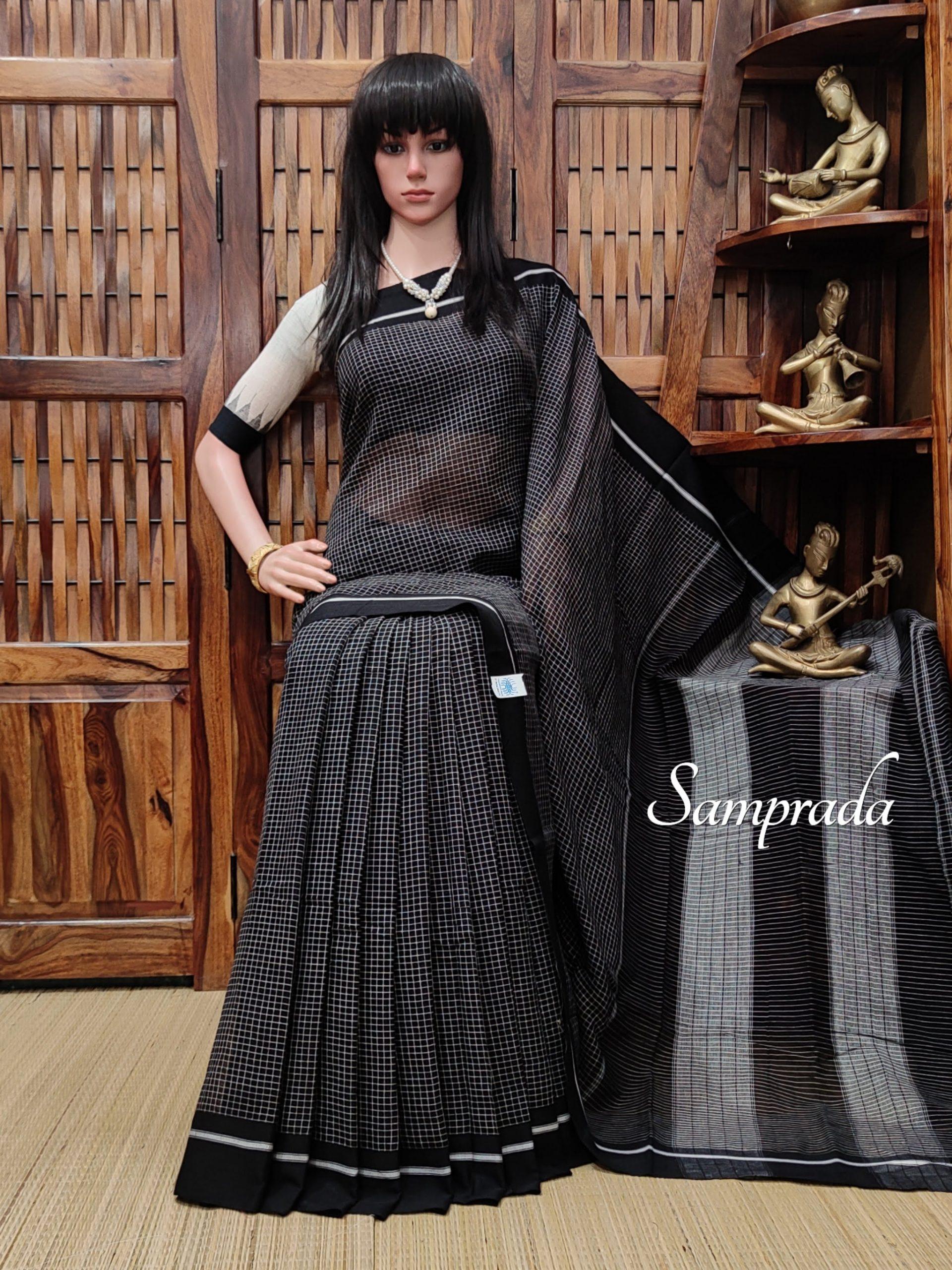 Ragavinodini - Patteda Cotton Saree