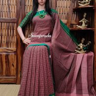 Rajalakshmi - Patteda Cotton Saree