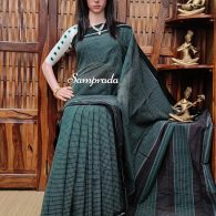 Rajanigandha - Patteda Cotton Saree