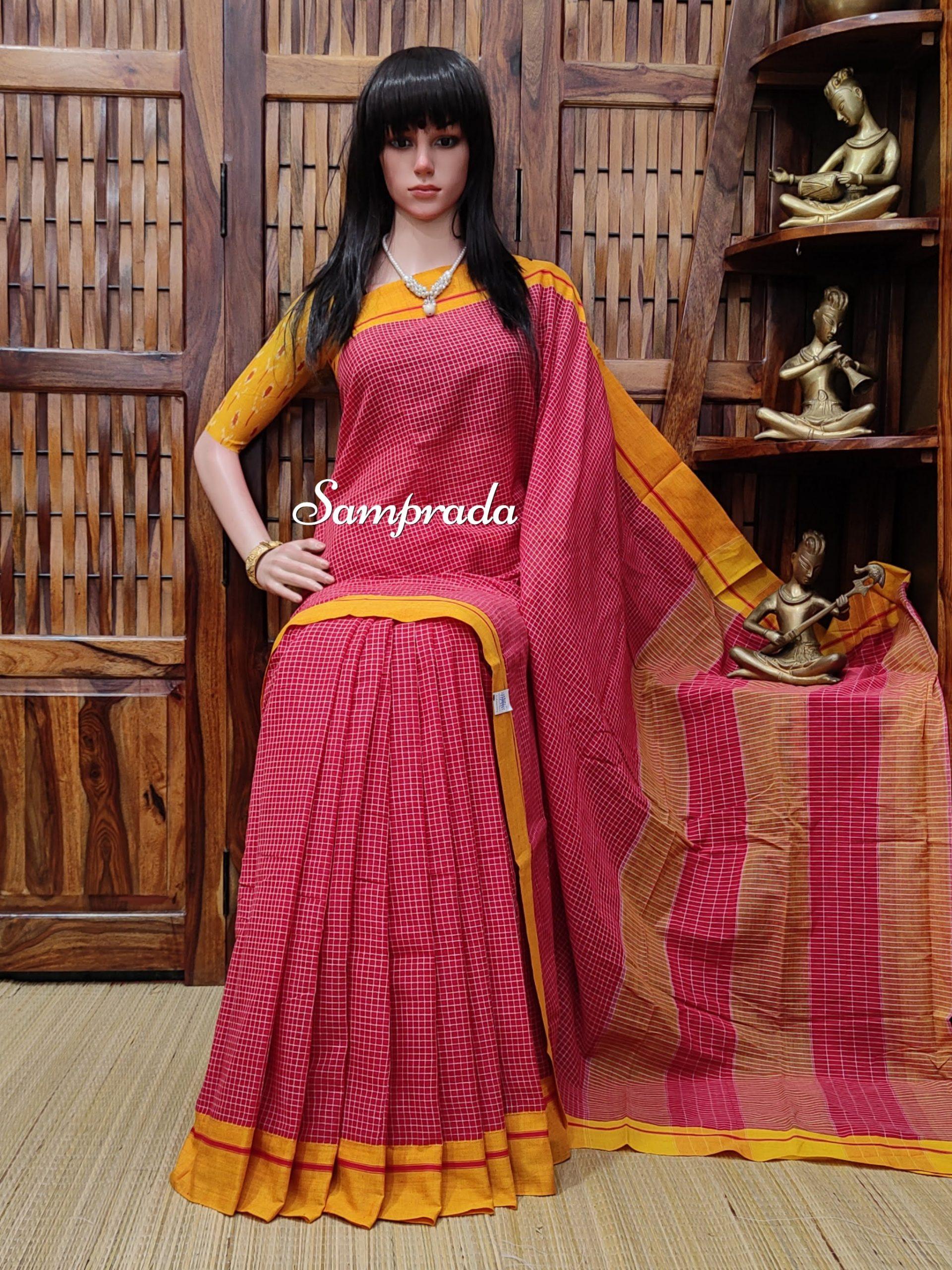 Remitha - Patteda Cotton Saree