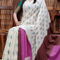 Payoda - Ikkat Cotton Saree