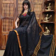 Damarugapriya - Pearl Cotton Saree
