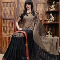 Deepaprabha - Pearl Cotton Saree